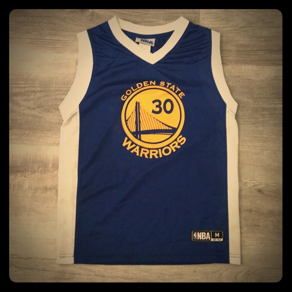 new arrival d8167 cce4a Stephen Curry Golden State Warriors NBA Jersey